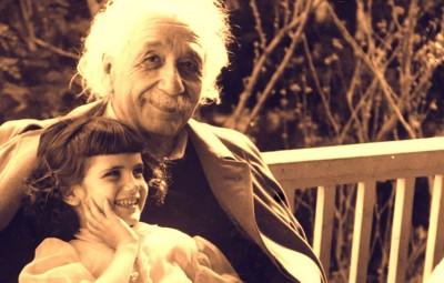 Einstein y su hija 2