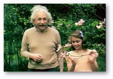 Einstein y su hija